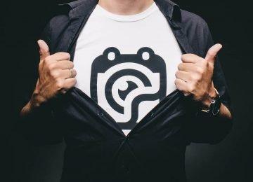 עיצוב חולצות לעסקים וחברות סטארטאפ